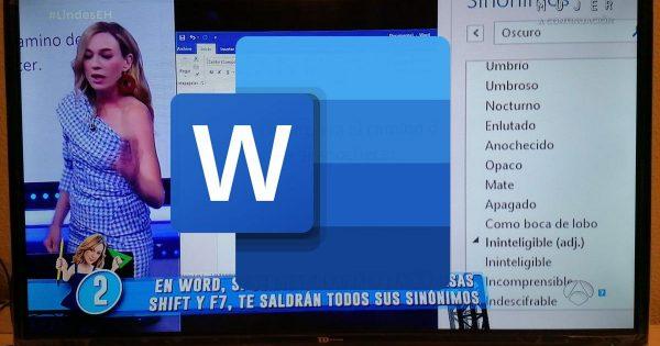 El truco de Microsoft Word que se ha hecho viral gracias a El Hormiguero